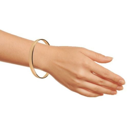 London High Street 14k Gold Bangle